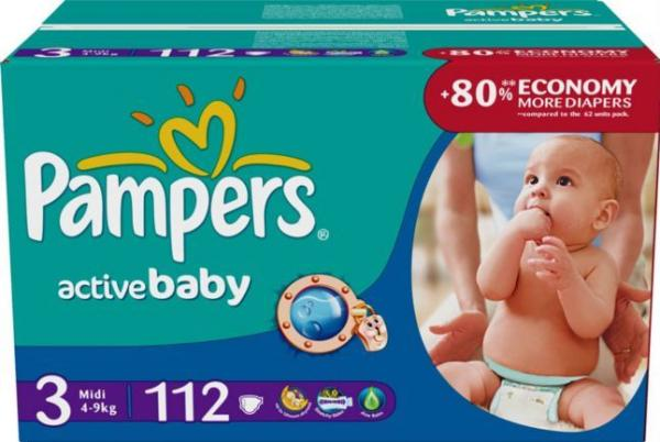 Active Baby Pampers